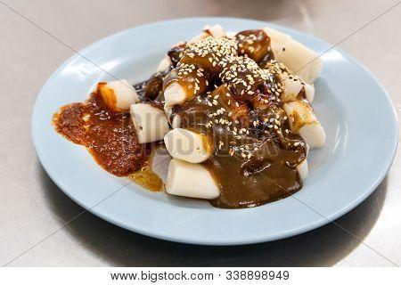 Penang Chee Cheong Fun With Prawn Source Popular Food Malaysia