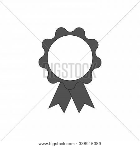 Award Icon In Trendy Flat Style Isolated On Grey Background. Badge Symbol For Your Web Site Design,