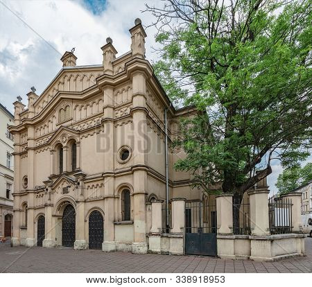 The Tempel Synagogue Is A Synagogue In Krakow, Poland, In The Kazimierz District.