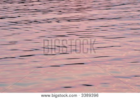 Reflections Of Dusk On Bay Waters