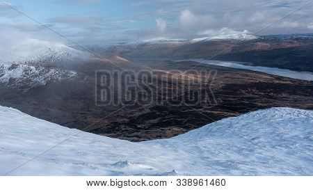 View Of Loch Tay (scotland) From Meall Nan Tarmachan