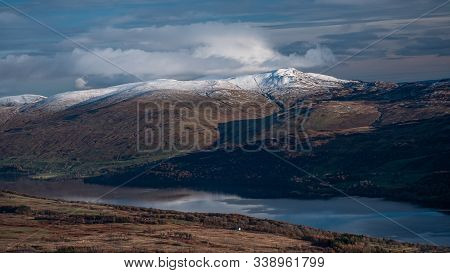A  Winter Day Over Loch Tay In Scotland
