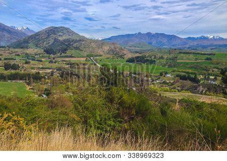 Beautiful Landscape Around Arrowtown, South Island, New Zealand