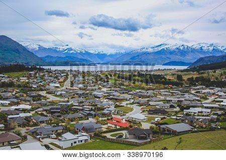 Beautiful Landscape In Arrowtown, South Island, New Zealand
