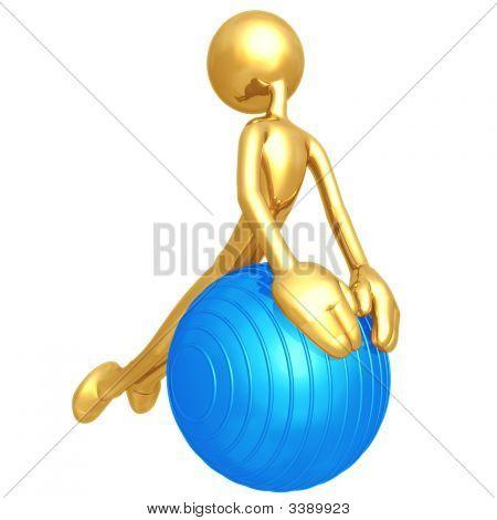 Pilates Physio Ball