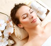 Spa Woman in Beauty Salon poster