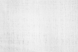 White Abstract Cotton Towel Mock Up Template Fabric On Background. Cloth Wallpaper Of Artistic Grey
