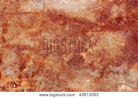 Photo of Rust metal