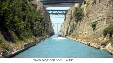 Corinth Canal View