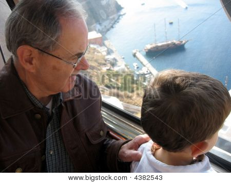 Riding The Tram With Grand-dad