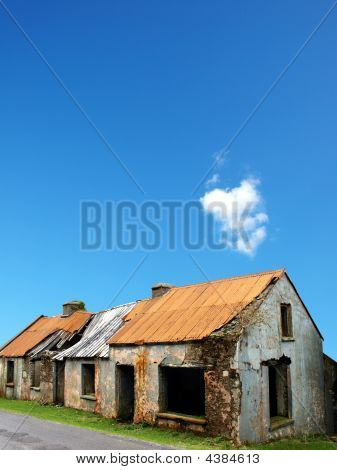 Old Ruined And Desolate House
