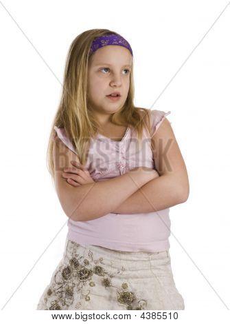 Girl Annoyed