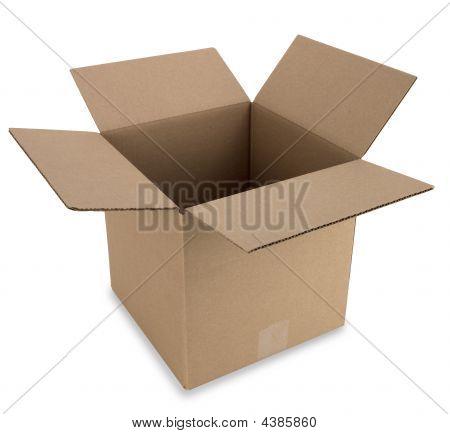 Cardboard Box With Path