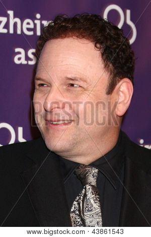 LOS ANGELES - MAR 20:  Jason Alexander arrives at the 21st Annual A Night at Sardi's to Benefit the Alzheimer's Association at the Beverly Hilton Hotel on March 20, 2013 in Beverly Hills, CA