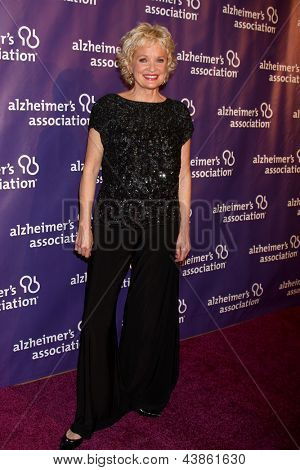 LOS ANGELES - MAR 20:  Christine Ebersole arrives at the 21st Annual A Night at Sardi's to Benefit the Alzheimer's Association at the Beverly Hilton Hotel on March 20, 2013 in Beverly Hills, CA