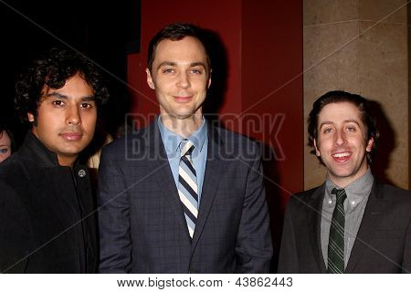 LOS ANGELES - MAR 20:  Jim Parsons arrives at the 21st Annual A Night at Sardi's to Benefit the Alzheimer's Association at the Beverly Hilton Hotel on March 20, 2013 in Beverly Hills, CA
