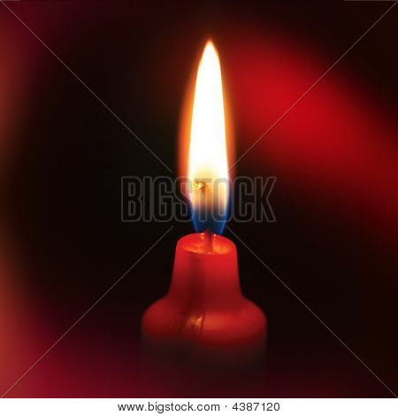 Rote candel