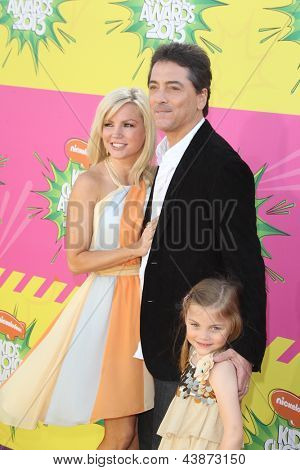 LOS ANGELES - MAR 23:  Scott Baio arrives at Nickelodeon's 26th Annual Kids' Choice Awards at the USC Galen Center on March 23, 2013 in Los Angeles, CA