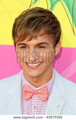 LOS ANGELES - MAR 23:  Lucas Cruikshank arrives at Nickelodeon's 26th Annual Kids' Choice Awards at the USC Galen Center on March 23, 2013 in Los Angeles, CA