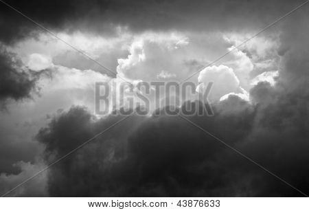 Storm Clouds, Monochrome