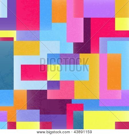 Geometric vibrant grunge background
