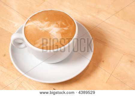 Latte And Saucer