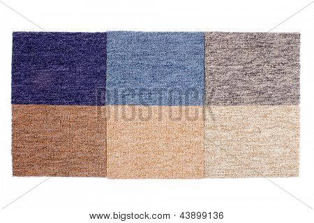 Photo of Samples of Carpets