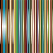 Abstract background with white red blue green and yellow striped (Vector) poster