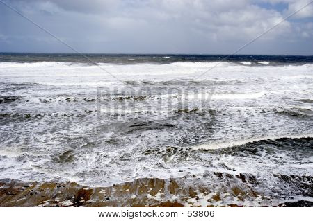 Foaming Seascape