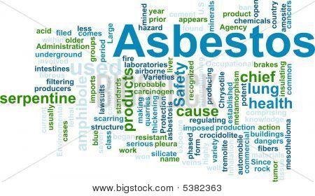 Asbestos Word Cloud