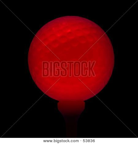 Red Golfball