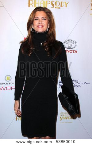 LOS ANGELES - NOV 8:  Kathy Ireland at the YWCA Greater Los Angeles Annual Rhapsody Ball at Beverly Hills Hotel on November 8, 2013 in Beverly Hills, CA