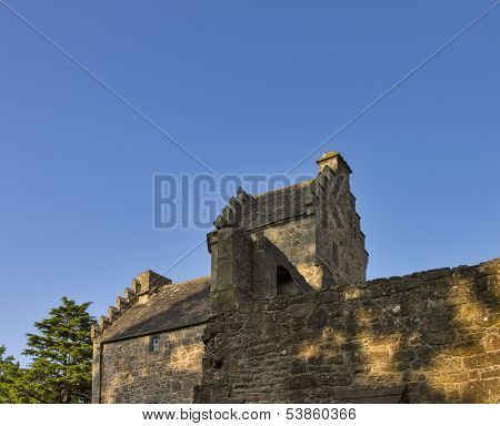 Elgin, the rear of the Bishops House.