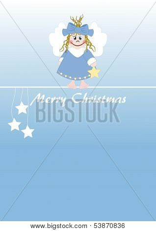 Cute Little Angel - Merry Christmas