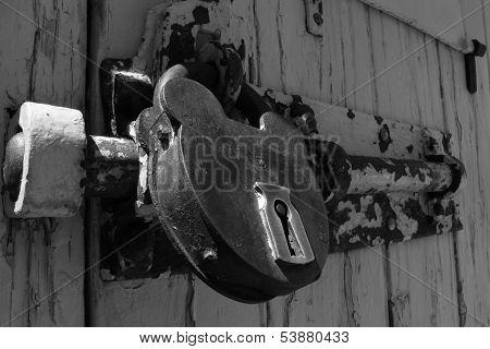 Lock in Monochrome