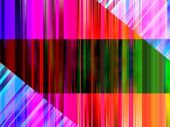 Background made out of colorful abstract lines. poster