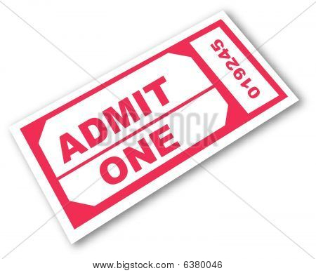 Admit One.