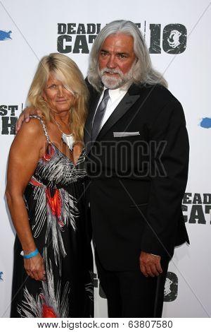 LOS ANGELES - APR 22:  Karen Gillis, Bill Wichrowski at the