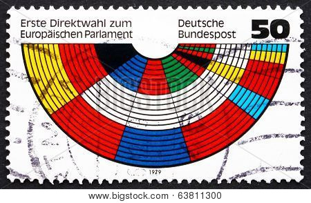 Postage Stamp Germany 1979 European Parliament