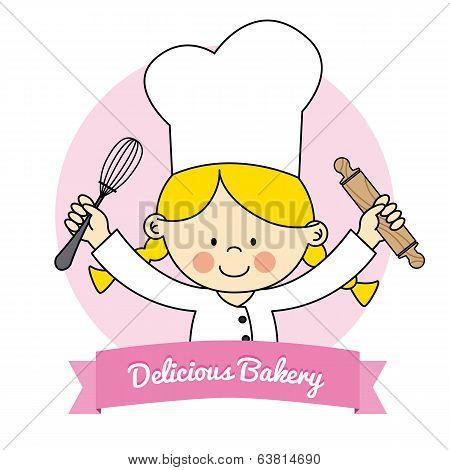 Little Chef girl