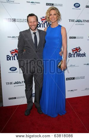 BODHILOS ANGELES - APR 22:  Bodhi Elfman, Jenna Elfman at the 8th Annual BritWeek Launch Party at The British Residence on April 22, 2014 in Los Angeles, CA