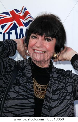 BODHILOS ANGELES - APR 22:  Jo Anne Worley at the 8th Annual BritWeek Launch Party at The British Residence on April 22, 2014 in Los Angeles, CA