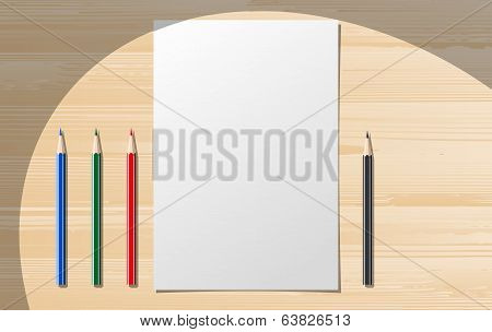 Paper notebooks with stationery