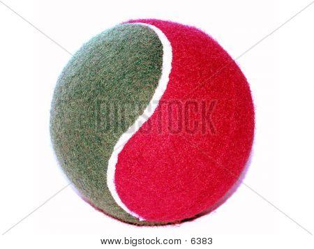 Tennis Bal (Red & Green)