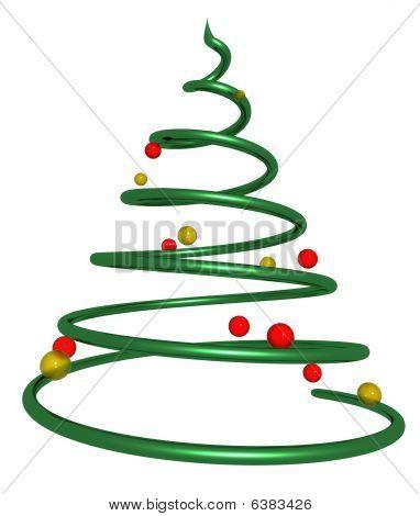 Twisted Christmas Tree