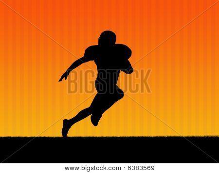 American-Football-Hintergrund