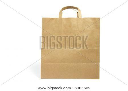 Bolsa de papel marrón