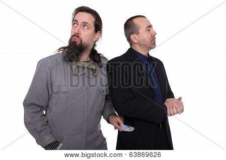 Craftsman Steals Businessman