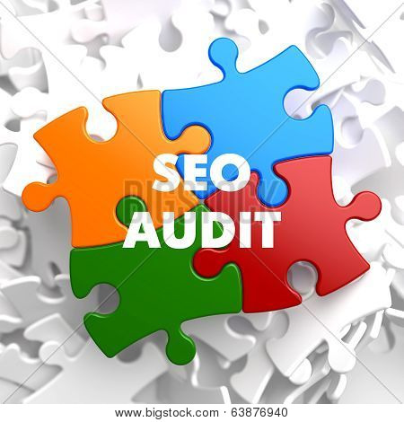 SEO Audit on Multicolor Puzzle.