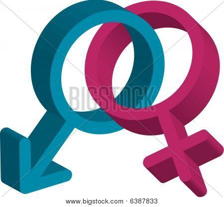 männliche & weibliche Symbole